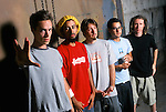 Various portrait sessions of the rock band, Incubus