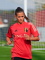 20200911 - TUBIZE , Belgium : Shari Van Belle pictured during a training session of the Belgian Women's National Team, Red Flames , on the 11th of September 2020 in Tubize. PHOTO SEVIL OKTEM| SPORTPIX.BE