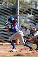 Jovan Rosa - Chicago Cubs 2009 Instructional League.Photo by:  Bill Mitchell/Four Seam Images..