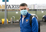 St Johnstone v Motherwell…08.08.21  McDiarmid Park<br />Glenn Middleton pictured arriving at McDiarmid Park ahead of today's game against Motherwell.<br />Picture by Graeme Hart.<br />Copyright Perthshire Picture Agency<br />Tel: 01738 623350  Mobile: 07990 594431