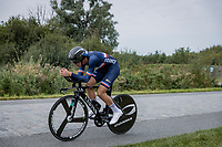 Kevin Vauquelin (FRA/Arkea Samsic)<br /> <br /> 88th UCI Road World Championships 2021 – ITT (WC)<br /> Men's U23 Time trial from Knokke-Heist to Brugge (30.3km)<br /> <br /> ©Kramon
