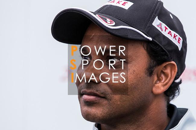 S.S.P. Chawrasia of India is interviewed during the day three of UBS Hong Kong Open 2017 at the Hong Kong Golf Club on 25 November 2017, in Hong Kong, Hong Kong. Photo by Yu Chun Christopher Wong / Power Sport Images