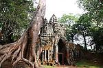 North Gate at Angkor Thom, Cambodia