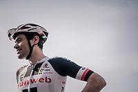 Tom Dumoulin (NED/Sunweb) pre-race<br /> <br /> 104th Liège - Bastogne - Liège 2018 (1.UWT)<br /> 1 Day Race: Liège - Ans (258km)