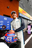 28th August 2021; Spa Francorchamps, Stavelot, Belgium: FIA F1 Grand Prix of Belgium, qualifying sessions;  F1 Grand Prix of Belgium 63 George Russell GBR, Williams Racing takes 2nd on pole