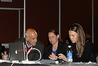 Boston Breakers draft team... The WPS draft 2012 was held at the Kansas City Convention Center, Kansas City, MO.