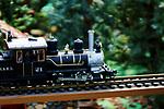 Train layout display steam engine no. 21