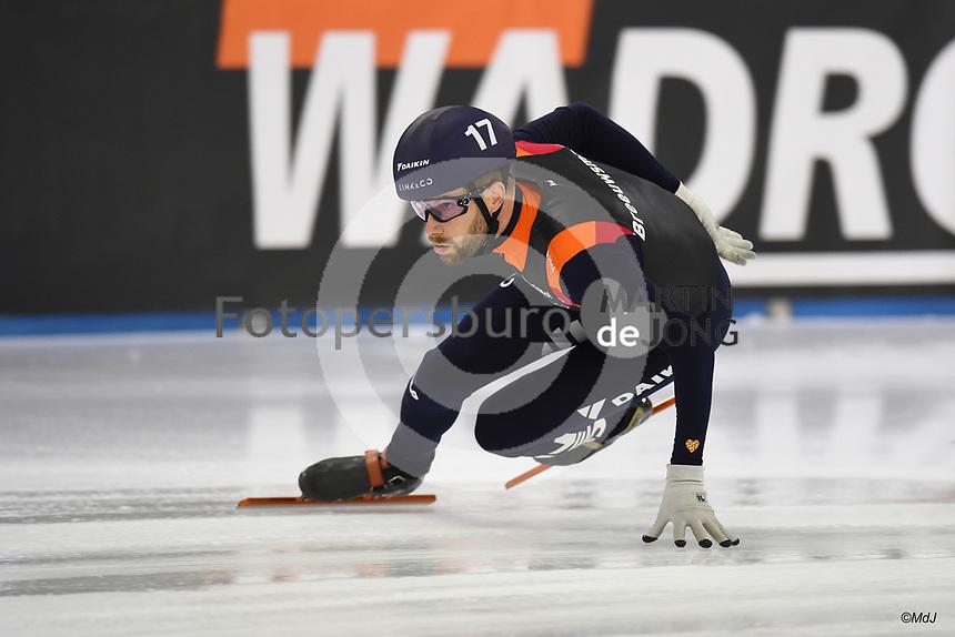 SCHAATSEN: HEERENVEEN: 12-12-2020, IJsstadion Thialf, Shorttrack, NK Shorttrack Afstanden, Daan Breeuwsma, ©foto Martin de Jong