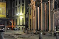 - Milan, church of San Giorgio al Palazzo inTorino street<br /> <br /> - Milano, chiesa di San Giorgio al Palazzo in via Torino