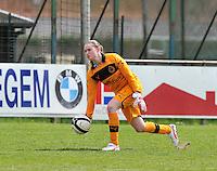Club Brugge Dames B : Kjenta Claeys.foto DAVID CATRY / Nikonpro.be