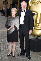 Jim Broadbent and wife<br /> arrives for the BAFTA TV Craft Awards 2016 at the Brewery, Barbican, London<br /> <br /> <br /> ©Ash Knotek  D3109 24/04/2016