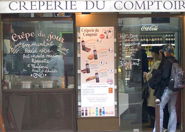 Exterior, Le Comptoir Restaurant, Paris, France, Europe