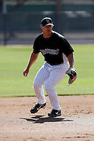 Darin Holcomb - Colorado Rockies - 2009 spring training.Photo by:  Bill Mitchell/Four Seam Images