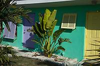 Tropical Syle Architecture, Florida Keys, FL, America, USA.