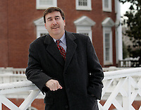 Larry Sabato is a Professor of Politics at the University of Virginia. (Photo/Andrew Shurtleff)