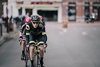 Niki Terpstra (NED/Direct Energie) at the front<br /> <br /> 51th Le Samyn 2019 <br /> Quaregnon to Dour (BEL): 200km<br /> <br /> ©kramon