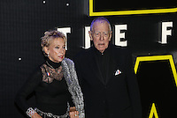 Actor Max Von Sydow (Lor San Tekka) during the STAR WARS: 'The Force Awakens' EUROPEAN PREMIERE at Odeon, Empire & Vue Cinemas, Leicester Square, England on 16 December 2015. Photo by David Horn / PRiME Media Images