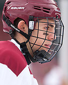 Michael Campoli (BC - 6) - The Boston College Eagles practiced on the rink at Fenway Park on Friday, January 6, 2017.