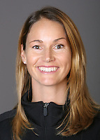 STANFORD, CA - OCTOBER 1: Heather Olson of the Stanford Cardinal synchronized swimming team poses for a headshot on October 1, 2008 in Stanford, California.