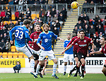St Johnstone v St Mirren…27.10.18…   McDiarmid Park    SPFL<br />Matty Kennedy's header is saved by Craig Samson<br />Picture by Graeme Hart. <br />Copyright Perthshire Picture Agency<br />Tel: 01738 623350  Mobile: 07990 594431