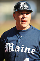 Steve Trimper (Head Coach) Maine Black Bears (Photo by Tony Farlow/Four Seam Images)
