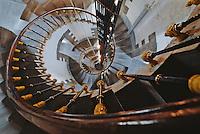 Europe/France/Bretagne/29/Finistère/le d'Ouessant: phare de Créac'h, escaliers en colimaçon