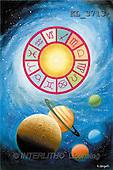 Interlitho, Luis, FANTASY, paintings, universe, zodiacs, KL, KL3713,#fantasy# illustrations, pinturas