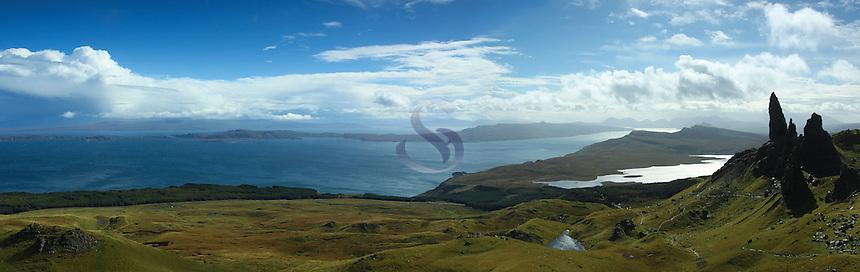 The Old Man of Storr, Isle of Skye, Inner Hebrides, Highland<br /> <br /> Copyright www.scottishhorizons.co.uk/Keith Fergus 2011 All Rights Reserved