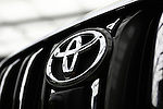 May 11, 2010 - Tokyo, Japan - A Toyota logo is pictured at the Tokyo head office, Japan, on May 11, 2010. Despite a global safety recall crisis, Toyota said it swung back to a net profit of 209.4 billion yen ($2.2 billion) for the business year that ended March 31, reversing from a loss of 437 billion yen the previous year.
