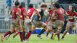 Hong Kong plays Singapore during the HKRFU A4N 2014 on May 24, 2014 at the Aberdeen Sport Ground in Hong Kong, China. Photo by Chung Yan / Power Sport Images