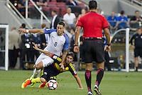Action photo during the match United States vs Colombia, Corresponding Group -A- America Cup Centenary 2016, at Levis Stadium<br /> <br /> Foto de accion durante el partido Estados Unidos vs Colombia, Correspondiante al Grupo -A-  de la Copa America Centenario USA 2016 en el Estadio Levis, en la foto: /i-d) Clint Dempsey de USA y Sebastian Perez de Colombia<br /> <br /> <br /> 03/06/2016/MEXSPORT/Victor Posadas.