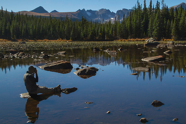 Red Rock Lake, Indian Peaks Wilderness Area, Nederland, Colorado. Private photo tours to Indian Peaks.