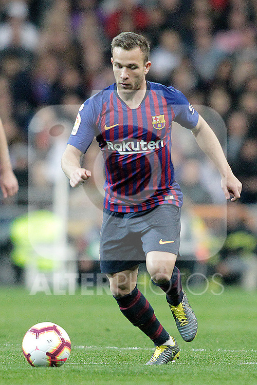 FC Barcelona's Arthur Melo during La Liga match. March 02,2019. (ALTERPHOTOS/Alconada)