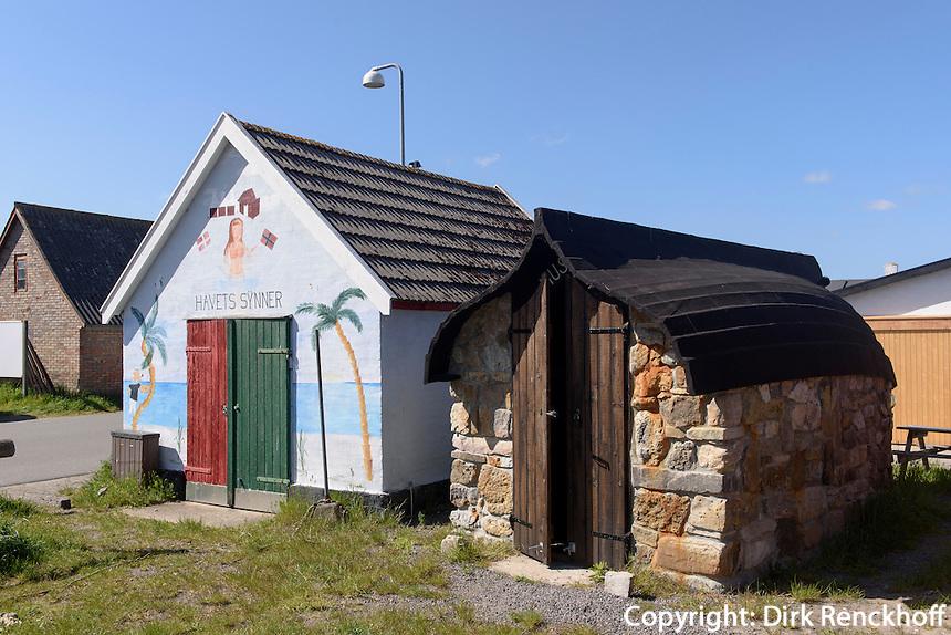 Räucherei Hasle Røgeri auf der Insel Bornholm, Dänemark, Europa<br /> smoke house Hasle Røgeri, Isle of Bornholm Denmark