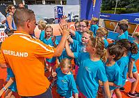 Den Bosch, Netherlands, 13 June, 2017, Tennis, Ricoh Open, schoolkids<br /> Photo: Henk Koster/tennisimages.com