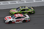 #20: Erik Jones, Joe Gibbs Racing, Toyota Camry Sport Clips, #9: Chase Elliott, Hendrick Motorsports, Chevrolet Camaro Mountain Dew