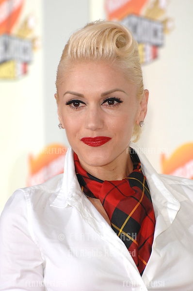 Gwen Stefani at Nickelodeon's 20th Anniversary Kids' Choice Awards at UCLA's Pauley Pavilion in Los Angeles..March 31, 2007  Los Angeles, CA.Picture: Paul Smith / Featureflash