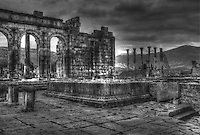 Volubilis Meknes Built in The Third Century BC. Arch of Caracalla Morocco