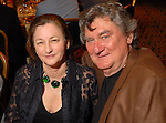 James Surls with his wife Charmaine Locke at the Hotel ZaZa Friday April 11,2008. (Dave Rossman/For the Chronicle)