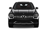 Car photography straight front view of a 2020 Mercedes Benz GLC-Coupe GLC300 5 Door SUV Front View