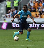 Pictured: Saturday 30 July 2016<br /> Re: Wolverhampton Wanderers v Swansea City FC, pre-season friendly at the Molineux Stadium, England, UK<br /> Swansea's Jordi Amat