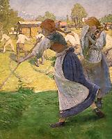ActiveMuseum_0000071.jpg / Les faneuses - Ivan Grohar (1902)<br />06/06/2013  -   / 20th century<br />Active Museum / Le Pictorium