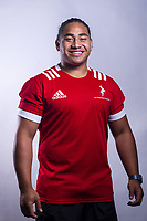 Monu Moli (Marlborough Boys' High School). 2019 New Zealand Schools Barbarians rugby union headshots at the Sport & Rugby Institute in Palmerston North, New Zealand on Wednesday, 25 September 2019. Photo: Dave Lintott / lintottphoto.co.nz