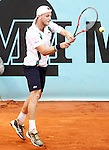 Denis Kudla, USA, during Madrid Open Tennis 2016 match.May, 4, 2016.(ALTERPHOTOS/Acero)