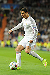Real Madrid´s Cristiano Ronaldo during 2014-15 Champions League match between Real Madrid and FC Shalke 04 at Santiago Bernabeu stadium in Madrid, Spain. March 10, 2015. (ALTERPHOTOS/Luis Fernandez)