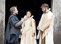 Macbeth by William Shakespeare. A Shakespeare's Globe Production directed by Eve Best. with  Billy Boyd as Banquo, Samantha Spiro as Lady Macbeth, Joseph Millson as Macbeth .Opens at the Shakespeare's Globe Theatre on 4/7/13  pic Geraint Lewis
