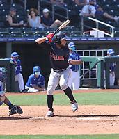 Jose Fermin - Cleveland Indians 2021 spring training (Bill Mitchell)