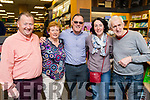 Pictured at the book launch of Cycling Kerry, at O'Mahony's Book Shop, Tralee on Friday evening last, were l-r: John Murray with Jennifer Crowley, Tomás Crowley, Mena Cahill and Fred O'Dwyer