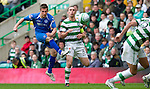 Celtic v St Johnstone....01.04.12   SPL.Chris Millar shoots wide of goal.Picture by Graeme Hart..Copyright Perthshire Picture Agency.Tel: 01738 623350  Mobile: 07990 594431