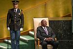 DSG meeting<br /> <br /> AM Plenary General DebateHis<br /> <br /> <br /> His Excellency Arthur Peter Mutharika, President, Republic of Malaw